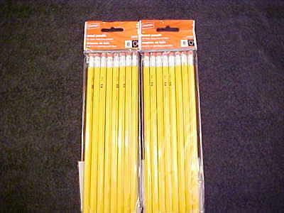Staples Wholesale Bulk Lot Of 16 Yellow 2 Pencils School Home Work Office