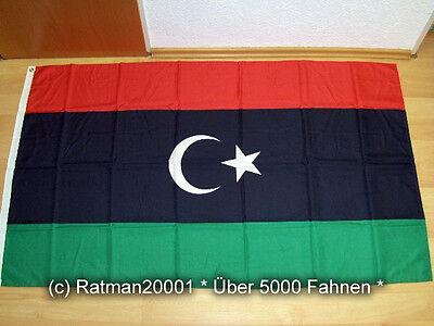 Flagge Libyen des Nationalen Übergangsrats - 90 x150 cm