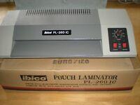 Ibico PL260 A4 laminating machine