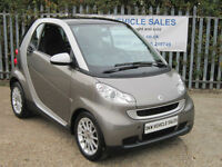 SMART FORTWO 1.0L 71HP PASSION MHD AUTO 2010 (59) ONLY 36K FSH / ONE OWNER / VGC