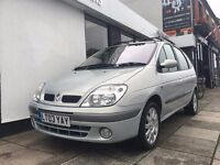 Renault Scenic 1.6 16v Fidji 5dr PARTS & LABOUR WARRANTY