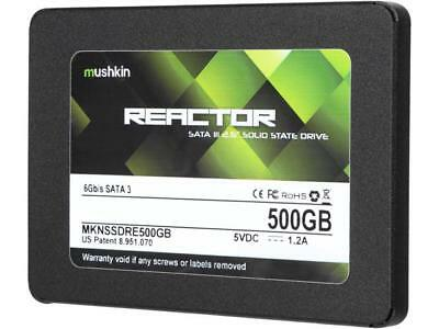 "Mushkin Enhanced Reactor 2.5"" 500GB SATA III MLC Internal Solid State Drive (SSD"