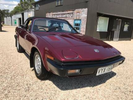 COLLECTABLE CLASSIC CARS - 1981 Triumph TR7 Convertible Strathalbyn Alexandrina Area Preview