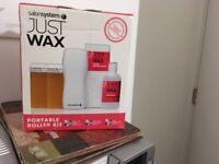 just wax: salon system's waxing kit