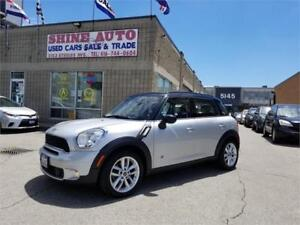2013 MINI Cooper Countryman Cooper S ALL 4 Leather Panorama Roof