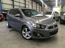 2012 Holden Barina TM MY13 CDX Grey 6 Speed Automatic Hatchback Eagle Farm Brisbane North East Preview