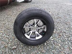 5-BOLT ALUMINUM WHEELS AND TIRES Prince George British Columbia image 1
