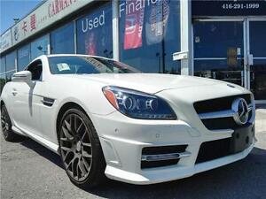 2012 MB SLK350+++SNOW TIRES& RIMS INCLUDED+++