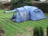 Vango Tigris 800 Tent and large side awning - used once
