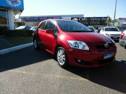2007 Toyota Corolla ZRE152R Conquest Red 4 Speed Automatic Hatchback Dutton Park Brisbane South West Preview