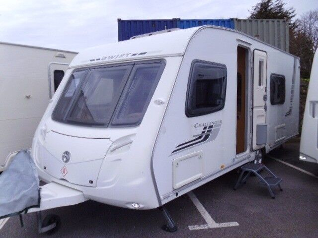 2009 Swift Challenger 570 4 Berth FIXED BED and full REAR ...