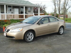 2006 Pontiac G6 Sedan **LOW K'S**