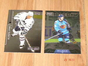 Cartes de hockey Recrues (deux) de Black Diamond