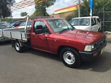 1996 Toyota Hilux RN85R Burgundy 5 Speed Manual Cab Chassis Campbelltown Campbelltown Area Preview
