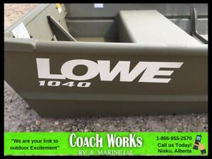 2018 LOWE JON BOATS 1040 10 FT JUST LOAD AND GO