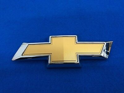 GM OEM 2018 Chevrolet Traverse Rear Bow Tie Emblem 23166689