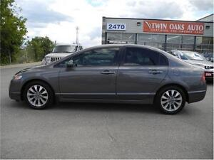 2011 Honda Civic Sdn EX-L LEATHER - SUNROOF Oakville / Halton Region Toronto (GTA) image 3