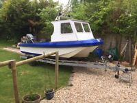 Wilson Flyer 17ft boat