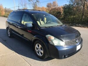 2007 Nissan Quest S AUTOMATIQUE FULL AC DVD