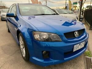 2010 Holden Commodore VE MY10 SS Blue 6 Speed Manual Sedan Maidstone Maribyrnong Area Preview