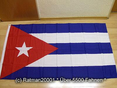 Fahnen Flagge Kuba - 90 x 150 cm