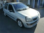 2003 Renault Clio Expression Silver 5 Speed Manual Hatchback Wangara Wanneroo Area Preview