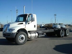 2017 International 4400 6x4, New Cab & Chassis