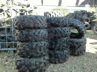 LOTS OF NEW AND USED ATV TIRES IN STOCK!