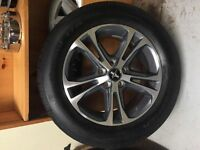 "2015 Ford Mustang 17"" alloy wheels with P225/60R17 BF Goodrich t"