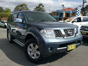2005 Nissan Pathfinder R51 TI (4x4) Blue 5 Speed Automatic Wagon Greenacre Bankstown Area Preview