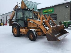 2006 CASE 580SM 4WD BACKHOE - WITH SNOW PUSHER - MUST SEE DEAL!