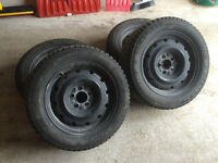Winter Tires for Sales (with rims)