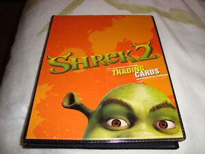 SHREK 72 CARD SET WITH ALBUM NEW