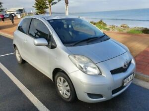 2011 Toyota Yaris NCP130R YR Silver 5 Speed Manual Hatchback Morphett Vale Morphett Vale Area Preview