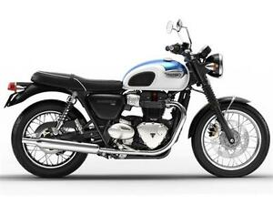 2017 Triumph Bonneville T100 Two-Tone