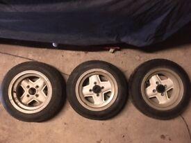 Mini wheels - 13s and 12s - Edinburgh (just south of)