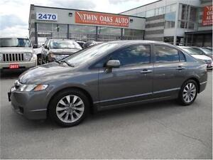 2011 Honda Civic Sdn EX-L LEATHER - SUNROOF Oakville / Halton Region Toronto (GTA) image 2