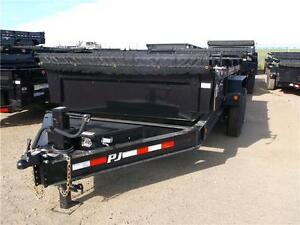 "14' x 83"" Low Pro Dump Trailer (DL)"