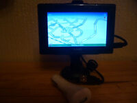 Sat Nav with cigarette lighter charger. £16.00