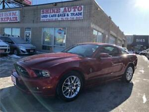 2013 Ford Mustang V6 Premium, Leather, Bluetooth, Automatic