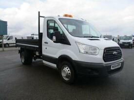 Ford Transit T350 MWB TIPPER TDCI 125PS S/CAB DIESEL MANUAL WHITE (2014)