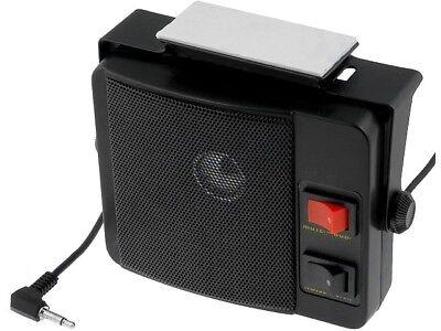 Universal CB FUNK & Scanner Lautsprecher mit Geräuschfiter & Abschwächer 6 Watt