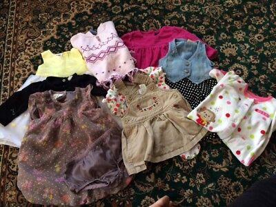 6-9 Month Girls Clothing Lot Dress Sweeter sleeper Pants Vest Tops