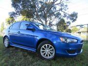 2010 Mitsubishi Lancer CJ MY10 Activ Sportback Blue 5 Speed Manual Hatchback Doveton Casey Area Preview