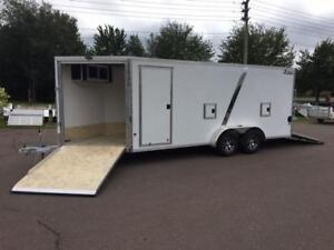 NEW 2019 XPRESS 7' x 23' ELITE SNOWMOBILE TRAILERS