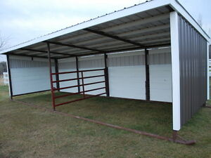 DELUXE HORSE SHED ~ SHELTER