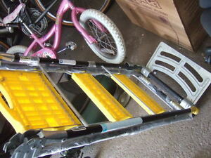 foldable ladder total trolley 3 in 1