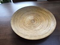 Large Bamboo Plate/Platter. Collect from Fulham