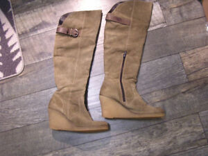 Women's Ladies over knee High Boots /Winter Coat