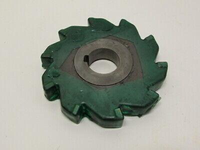 "3//16/"" RAD LH HSS Single Corner Milling cutter OD 2 1//2/"" slotted bore 1/"" 12T"